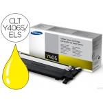 Tóner Samsung referencia clp-360 clp-365 clx-3300 clx-3305 amarillo , CLT-Y406S/ELS