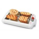 Tostador de pan ufesa plano tipo barbacoa para todo tipo de pan 2 tubos de cuarzo 650w