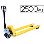 Transpaleta de mano capacidad de carga kg mm