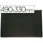 Vade sobremesa Saro lujo 710 color negro tamaño 490x330 cm