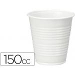 Vaso de plástico color blanco 150cc para maquinas de vending de cafe paquete de 100