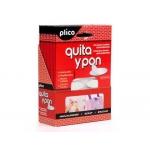 Velcro autoadhesivo redondo Plico quita y pon 24 cierres