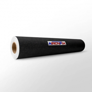 Aironfix 67800 - Rollo adhesivo, efecto ante, 0,45 x 10 metros, color negro
