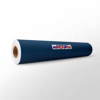Aironfix 67802 - Rollo adhesivo, efecto ante, 0,45 x 10 metros, color azul