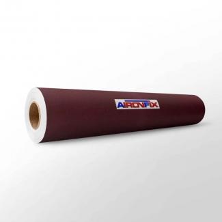Aironfix 67804 - Rollo adhesivo, efecto ante, 0,45 x 10 metros, color granate