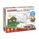 Alpino AC000003 - Kit de tempera, para pintar por números