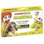 Alpino Set Carnaval DL000008 - Barras de maquillaje, caja de 6 colores surtidos, barra de 5 gr