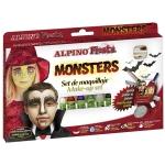 Alpino Set Monsters DL000009 - Barras de maquillaje, caja de 6 colores surtidos, barra de 5 gr