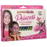Alpino Set Princess DL000010 - Barras de maquillaje, caja de 6 colores surtidos, barra de 5 gr