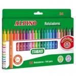 Alpino Standard AR001003 - Rotuladores de colores, caja de 24 colores