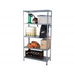 Ar Storage BRICOL 40 - Estantería metálica, 180 x 90 x 40 cm, 5 estantes, 80 kg por estante, color gris