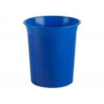 Archivo 2000 2001AM AZ - Papelera de plástico, 16 litros, color azul opaco