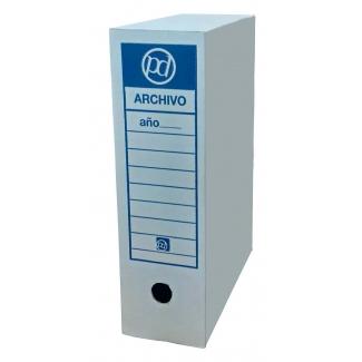 Distrimar DADF - Caja archivo definitivo de cartón, tamaño folio