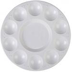Artist 4610009 - Paleta de plástico circular, 10 huecos, tamaño 17 cm