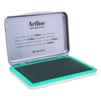 Artline 00 V - Tampón número 00, tamaño 40 x 63 mm, color verde