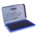 Artline 1 A - Tampón número 1, tamaño 67 x 106 mm, color azul
