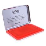 Artline 1 R - Tampón número 1, tamaño 67 x 106 mm, color rojo