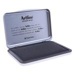 Artline 2 N - Tampón número 2, tamaño 87 x 143 mm, color negro