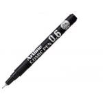 Artline Comic Pen EK-286 NE - Rotulador calibrado, trazo de 0,6 mm, color negro