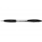 Bic Atlantis 887132 - Bolígrafo de tinta de aceite, punta redonda de 1 mm, retráctil, sujeción de caucho, color negro