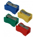 Bismark 304608 - Sacapuntas de plástico, colores surtidos