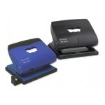Bismark 313208 - Taladrador metálico, perfora hasta 20 hojas, colores surdidos azul y negro