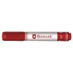 Bismark 314573 - Rotulador permanente, punta redonda de 1,5 mm, color rojo