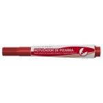 Bismark 314576 - Rotulador para pizarra blanca, punta redonda de 3 mm, color rojo
