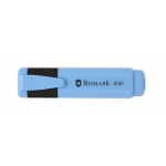 Bismark 314792 - Rotulador fluorescente, punta biselada, color azul