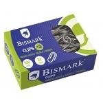 Bismark 316865 - Clips metálicos, niquelados, nº 2 de 32 mm, caja de 100