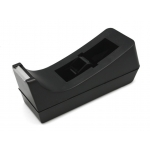 Bismark 319446 - Portarrollo de sobremesa, para cintas de 33 mt, negro