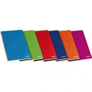Bloc Din A4 cuadricula 5 mm colores surtidos tapa cartón plastificada