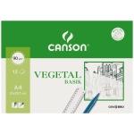 Canson Guarro Basik 200407621 - Papel vegetal, A4, 90 gramos, sobre de 12 hojas