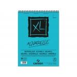 Canson XL Aquarelle C400039170 - Papel acuarela, sin recuadro, bloc con espiral, A4, 30 hojas, 300 gramos