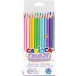 Carioca 43034 - Lápices de colores, caja de 12 colores