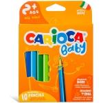 Carioca Baby - Lápices de colores, caja de 10 colores