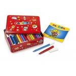 Carioca Color Kit - Rotuladores de colores, caja de 100 colores + album de colorear