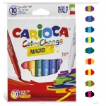 Carioca Colorchange Magic - Rotuladores de colores, caja de 10 colores