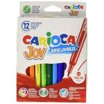 Carioca Joy - Rotuladores de colores, caja de 12 colores