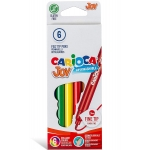 Carioca Joy - Rotuladores de colores, caja de 6 colores