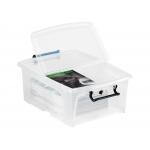 Cep 2006950110 - Caja de almacenaje, capacidad 20 litros, tamaño 17 x 19 x 46 cm