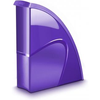 Cep Gloss 674+ - Revistero de plastico, color violeta
