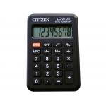 Citizen LC-210N - Calculadora de bolsillo, 8 dígitos