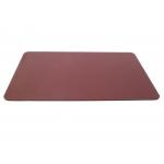 Csp - Vade de sobremesa, símil piel, 50 x 35 cm, color marrón