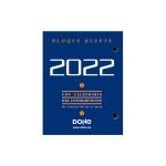 Dohe Bufete 11601 - Taco calendario sobremesa, castellano, tamaño 110 x 85 mm.