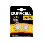 Duracell 990352 - Pila alcalina, CR2025, blíster con 2 pilas