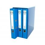 Elba 100580056 - Módulo de 3 archivadores de palanca, tamaño A4, 2 anillas, lomo de 50 mm, color azul
