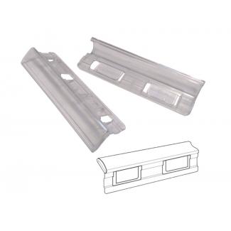 Elba Gio 400108844 - Visor de cristal para carpetas colgantes
