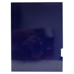 Elba Gio Ejecutivo - Subcarpeta de cartulina plastificada, A4, 275 gr/m2, dos solapas, color azul