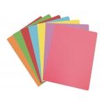 Elba Gio - Paquete de 50 subcarpetas de cartulina, A4, 180 gr/m2, colores pasteles surtidos